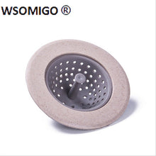 Load image into Gallery viewer, 1pcs Anti-clog Sewer Outfall Strainer Kitchen Accessories  Silicone Sink Drain Bathtub Filter Kitchen Tools Bathroom Gadgets-S