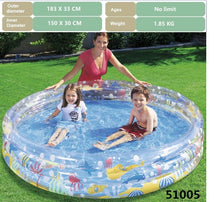 Load image into Gallery viewer, Baby inflatable swimming pool children's toys  bathtub sea ball pool swimming ring