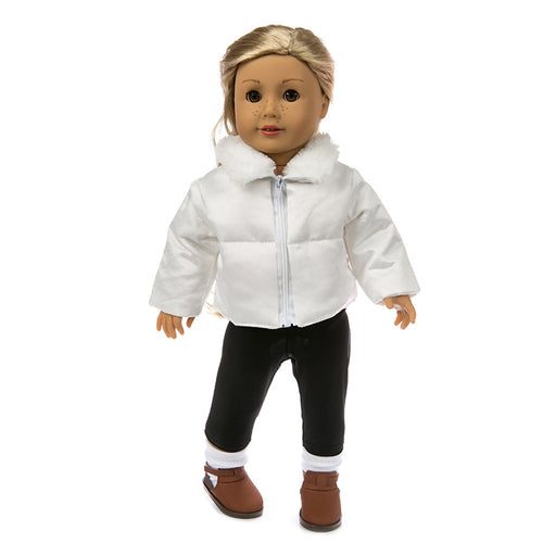 Baby Kids Toys Cute Clothes Down Jacket For 18 Inch American Boy Doll Accessory Girl Toy Birthday Christmas Gifts for Children