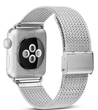 Load image into Gallery viewer, for Apple Watch 4 40MM 44MM Strap Stainless Steel Buckle Watchband for iwatch Series 4 Series 3/2/1 38mm 42mm Wrist Watch Band