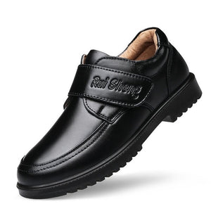 Boys Dress Shoes 2020 Spring Kids School Shoes For Boys British Style Children's Genuine Leather Shoes Piano Performance Wedding