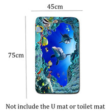 Load image into Gallery viewer, The London Wind 3pcs/lot Bathroom Rugs and Mat Set Anti Slip Bath Mat 3D Toillete Carpet Eco-Friendly Kitchen Blanket Doormats