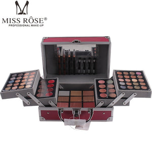 Miss Rose 130 Colors Makeup Set Box Professional Eyeshadow Blush Lipstick Foundation Eyebrow Makeup Kit de Maquiagem Cosmetics