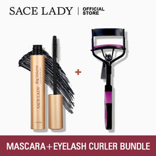 Load image into Gallery viewer, SACE LADY Eyelash Curler + Waterproof 3D Mascara For Eyelash Extension Black Thick Lengthening Eye Lashes Cosmetics