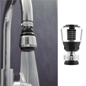 Kitchen Gadgets Faucet Aerator 2 Modes 360 Degree Adjustable Water Filter Diffuser Water Saving Nozzle Faucet Connector Shower.Q