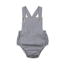 Load image into Gallery viewer, New 2020 Infant Newborn Baby Boys Girls Romper Summer Cotton Sleeveless One-pieces Suspender Jumpsuits Cotton Clothes Outfits