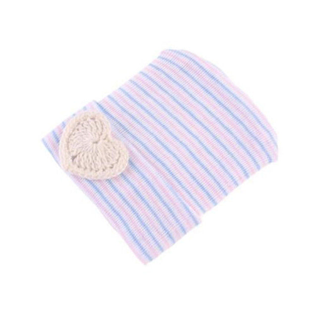 Newborn Baby Beanie Knitted Hat Infant Girl Boy Toddler Comfy Bowknot Heart Hospital Cap Soft Cute Winter Warm Lovely Gifts New