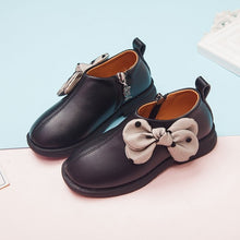 Load image into Gallery viewer, Princess Fashion Bow Little Girl Dress Wedding Party Shoes Big Kids  Children School Leather Shoes 3 4 5 6 7 8 9 10 11 12 Years
