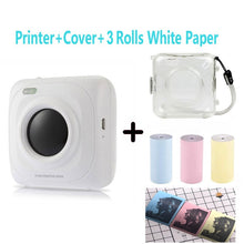 Load image into Gallery viewer, Portable Bluetooth Printer Photo Printer Mini Printer Portable Pictures Printer for Mobile Phone Android iOS Windows PAPERANG