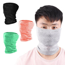Load image into Gallery viewer, Outdoor Cycling Filter Chip Bib UV Protection Dust-proof Collar Multi-functional Magic Bandana Scarf Face Cover Neck Gaiter