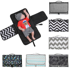 Load image into Gallery viewer, New 3 In 1 Waterproof Changing Pad Diaper Travel Multifunction Portable Baby Diaper Cover Mat Clean Hand Folding Diaper Bag