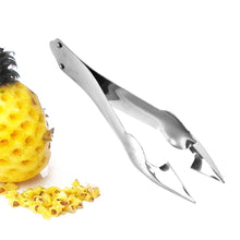 Load image into Gallery viewer, Practical Easy Fruit Peeler Pineapple Corer Slicer Cutter Stainless Steel Kitchen Knife Gadgets Pineapple Slicer Clips wh