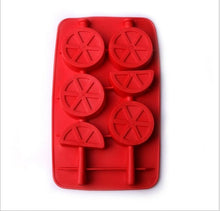 Load image into Gallery viewer, Ice Maker Mould DIY Creative Ice Cube Mold Silicone Ice Tray Fruit Ice Cube Maker Bar Kitchen Accessories