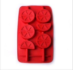 Ice Maker Mould DIY Creative Ice Cube Mold Silicone Ice Tray Fruit Ice Cube Maker Bar Kitchen Accessories