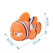 Load image into Gallery viewer, Nemo Dory Float Spray Water Squeeze Toys Baby Bath Toys Finding Soft Rubber Bathroom Play Animals Bath Figure Toy for Children