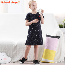 Load image into Gallery viewer, Girl Dress Summer Style Kids Dresses for Girls Cotton Clothes Casual School Princess Party Tutu Dress Baby Unicorn Clothing