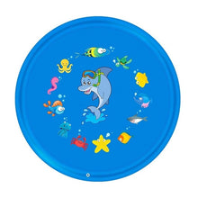 Load image into Gallery viewer, Outdoor Lawn Beach Sea Animal Inflatable Water Spray Kids Sprinkler Play Pad Mat Tub Swiming Pool