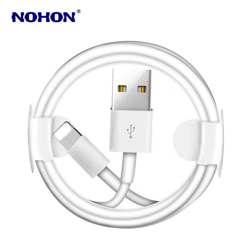 Original Fast Charging USB Data Cable for iPhone X XS 11 Pro Max XR 6 6S 7 8 Plus 5 5S SE iPad mini 2 3 Air Phone Charger Cables