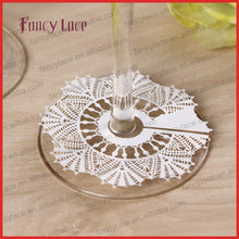 Load image into Gallery viewer, 60PCS Christmas Decoration Wine Claim, Place Card, Laser Cut Paper Snow for Wine Glasses, Party Wedding Favor Table Decoration