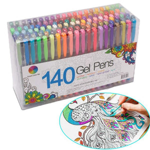 24/48 Pcs Paint Brush pen set with Refillable water Coloring Pen for drawing painting Calligraphy art Kids gift