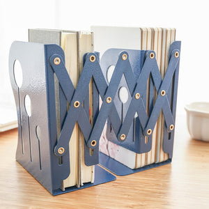 Simple and retractable bookshelf folding book clip book block for students to set up things for children