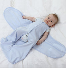 Load image into Gallery viewer, Cotton Baby Swaddle 100% Cotton Infant Newborn Thin Baby Wrap Envelope Swaddling Sleep Bag Sleepsack