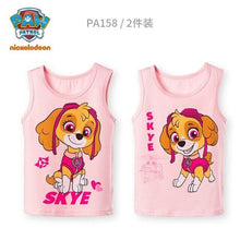 Load image into Gallery viewer, 2020 new 2pcs Genuine paw patrol Puppy Patrol Patrulla Canina Toy Children singlet high quality vest cotton underwaist Doll
