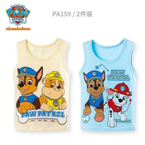 2020 new 2pcs Genuine paw patrol Puppy Patrol Patrulla Canina Toy Children singlet high quality vest cotton underwaist Doll
