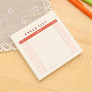1Pcs = 60Sheets Simple Creative Monthly Plan / Weekly Plan / Memo Plan Notebook Portable Desktop Plan Office School Supplies