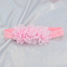 Load image into Gallery viewer, Baby Headband Flower Girls Bows Toddler Hair Bands for Baby Girls Kids Headbands Turban Newborn Haarband Baby Hair Accessories