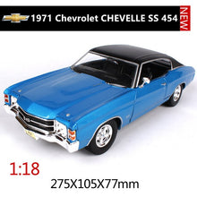 Load image into Gallery viewer, Maisto 1:18 Chevrolet Corvette SS car alloy car model simulation car decoration collection gift toy Die casting model boy toy
