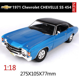 Maisto 1:18 Chevrolet Corvette SS car alloy car model simulation car decoration collection gift toy Die casting model boy toy