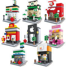 Load image into Gallery viewer, Nice Street Building Blocks Compatible with Classic Model Building Bricks Sets Educational Toys for Children Gifts Brinquedos