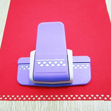 Load image into Gallery viewer, Effortless Flower Hole Punch Paper Craft Punches For Scrapbooking Puncher Machine Paper Cutting DIY Tools Office Stationery