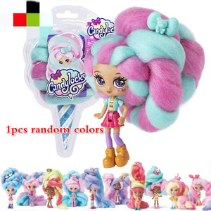 Candylocks Baby Doll Sweet Treat Toys Hairdressing Dolls Accessories Marshmallow Hair 30cm Surprise Hairstyle For Girl Toys Gift