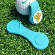 Load image into Gallery viewer, Silicone Golf Hat Clip Ball Marker Holder with Strong Magnetic Attach to Your Pocket Edge Belt Clothes Gift