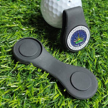 Load image into Gallery viewer, Silicone Golf Hat Clip Ball Marker Holder with Strong Magnetic Attach to Your Pocket Edge Belt Clothes Gift Golf Accessories