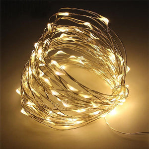 LED Christmas Lights USB Or Battery Power String Light Indoor Outdoor Holiday String Lights Home Decoration String Fairy Light