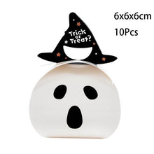 Load image into Gallery viewer, Halloween witch hat wizard LED lights hat outdoor garden led lantern Halloween decor skeleton masquerade cosplay clothing