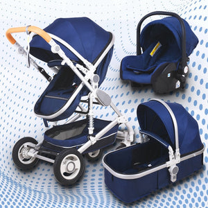 Babyfond Baby stroller high landscape baby Cart  3 in 1 baby  stroller with car seat 2 in 1 baby stroller CE safety