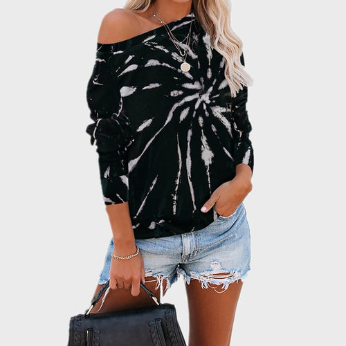Color Women Top Tee Casual Female T shirts Long Sleeve Aesthetic Graphic Tee O-Neck Women Clothes Autumn 2020 Fashion Tops