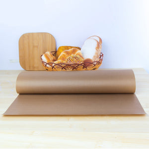 Reusable Baking mat High Temperature Resistant Sheet Pastry Baking Oilpaper Heat-Resistant Pad for Outdoor BBQ