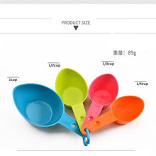 Load image into Gallery viewer, 4pcs/set Measuring Cup Kitchen Measuring Spoon Teaspoon Coffee Sugar Scoop Baking Cooking Kitchen Measuring Cups Tools Set