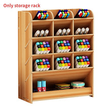 Load image into Gallery viewer, Multi-function Wooden Desktop Pen Holder Office School Stationery Storage Case Desk Pen Pencil Organizer