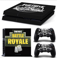 Load image into Gallery viewer, Fortnites PS4 Pro Skin Sticker Fortress Night Skin Sticker Sony Playstation 4 Console 2 Controllers PS4 Skin Sticker