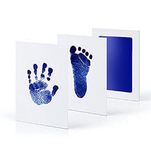 Load image into Gallery viewer, 0-12M Newborn Safe Non-toxic  Footprints Handprint No Touch Skin Inkless Ink Pads Kits Pet  Paw Prints Souvenir
