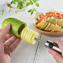 Load image into Gallery viewer, Handheld Fruit Core Remover Set for Vegetables Dig Hole Opener Core Remove Device Separator Vegetable Drill Kitchen Gadget Set
