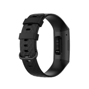 Band For Fitbit Charge 4 Strap Silicone Accessories Band For Fitbit Charge 3 Replacement Watch Strap For Fitbit Charge 4 Band