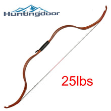 Load image into Gallery viewer, 2020 New Hot Huntingdoor 25lbs Nano Resin Traditional Recurve Bow Outdoor Sport Archery Shooting Hunting 126 Cm Bow Length