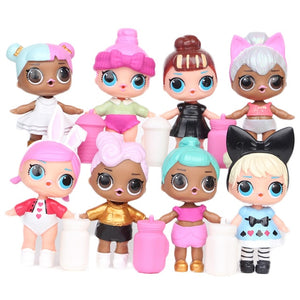 LOL Surprise House Doll Original Dolls Airplane Toys Anime Figures Plane Model Collection DIY Birthday Gifts for Girl